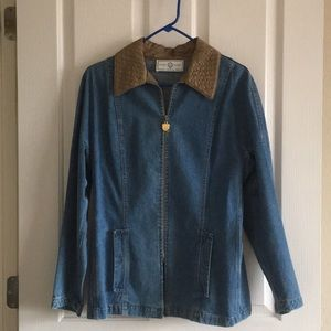 St. John Sport Denim Jacket